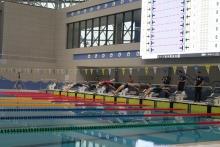 Открытый чемпионат по плаванию во Дворце по водным видам спорта