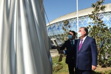 Opening of the Dushanbe Tennis Courts and Watersports Complex