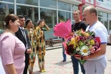 Гостеприимный приём участников соревнования по плаванию международного уровня в городе Худжанд
